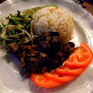 トルコ料理★アルバニア風牛レバーの炒め物