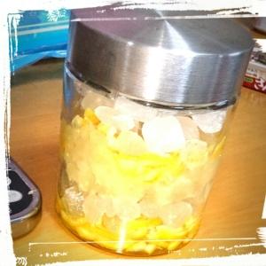 簡単☆氷砂糖でゆず茶( ´∀`)