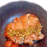 鶏もも肉の香味ソースがけ