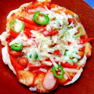 ピザ風おもち