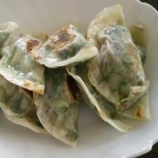 小松菜のギョウザ
