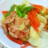 ジンギスカンのたれで✿簡単野菜炒め❤