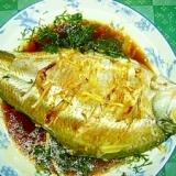 鯛の香菜蒸しもの