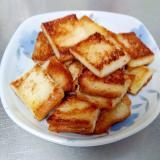 フライパンで作る食パンラスク