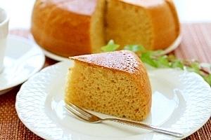 炊飯器で☆きなこ豆乳ケーキ