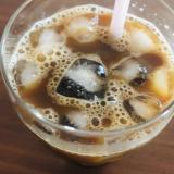 麦芽コーヒー入り♡アイスコーヒー
