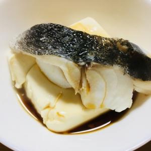 簡単!マダラと豆腐の蒸し焼き