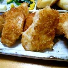 ☆簡単☆時短☆鶏胸肉のパン粉焼き