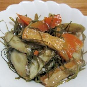 根菜と切り昆布のうま煮