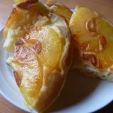 フライパンでパイナップルのケーキ
