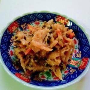 ゴーヤと新生姜のピリ苦味噌煮