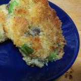 キノコのさつま芋コロッケ
