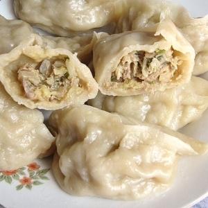 豚肉と白菜の蒸し餃子(猪肉白菜蒸餃)
