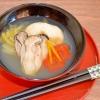 広島の牡蠣のお雑煮