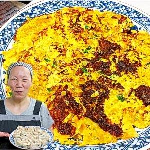 朝食にぴったり♪ 王さんの台湾風卵焼き