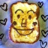 食パンマンのフレンチトースト