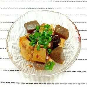 ヘルシーに♪高野豆腐やこんにゃくの炒め煮☆