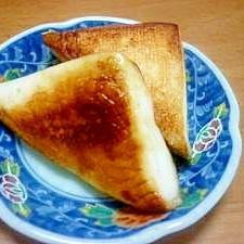 はんぺんのバター醤油ソテー