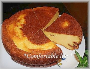"""★""""加糖タイプのヨーグルトde簡単ケーキ"""
