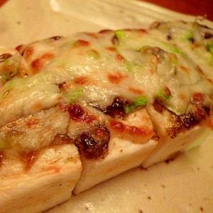 簡単おつまみ☆はんぺん海苔チーズ焼き