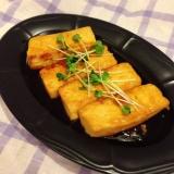 簡単節約!ご飯が進む!照り焼き豆腐
