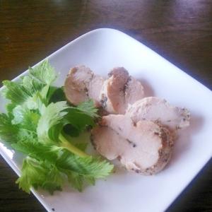 蒸し器でつくる簡単鶏ハム