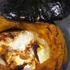 丸ごとかぼちゃのカマンベールシナモンハニー焼き