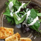 スイートチリマヨソースの揚げ出し豆腐