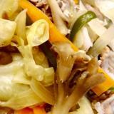 野菜豚味噌炒め♫