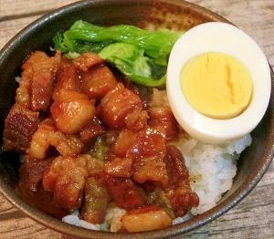 台湾ごはんの定番☆ルーロー飯♪