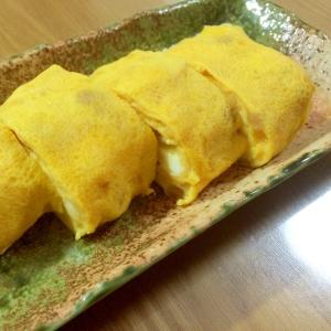 【ガサツ料理】天かす入りふっくらだし巻き卵