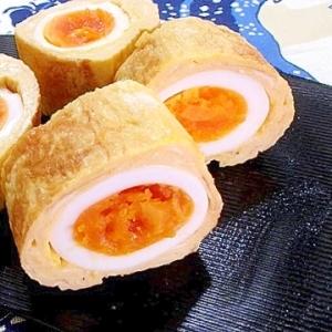 ゆで卵の卵焼き【卵の中の卵】