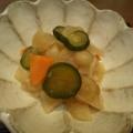 昆布茶の旨味☆白菜ときゅうりのレモン漬け☆