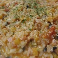 トマト&リコッタソースご飯リゾット