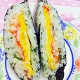 お花見弁当に豪華!おにぎりらず寿司