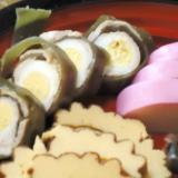 うずら卵と豚肉の昆布巻き