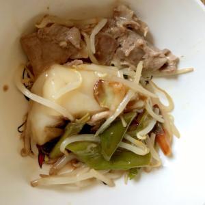 簡単!野菜雑煮(豚肉とお餅入り)