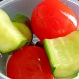 超簡単★トマトときゅうりのピクルス♪