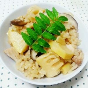 ☆簡単☆美味しい☆竹の子ご飯