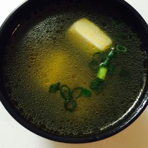 豆腐の中華スープ