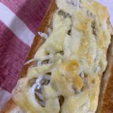 柚子胡椒マヨのしらすチーズトースト