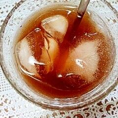 アイス☆シトラスジンジャー黒豆茶♪