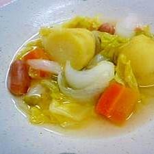 圧力鍋で簡単☆春野菜たっぷりポトフ