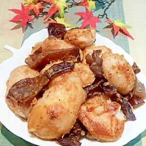 ねっとり〜♥「里芋とキクラゲの中華炒め」