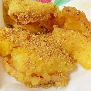 リンゴの天ぷら ゴマ風味(#^.^#)