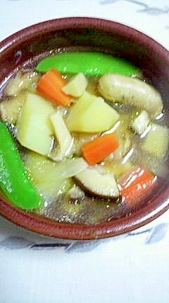 具沢山、じゃが芋のスープ