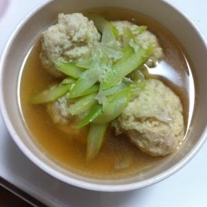 ふっわふわ鶏団子スープ〜おすまし風〜★★★★