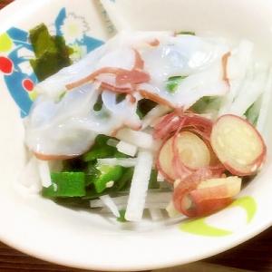 さっぱり☆タコの和風サラダ