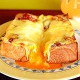 たまご&チーズトースト