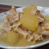 冬瓜と豚の味噌煮